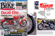 Marusho Magnum Electra, article in Australian magazine Old Bike Australasia Issue 50 2015; description of the motorcycle, the manufacturer and related models